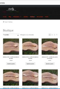 Visuel du Site artisanatcaminando.fr